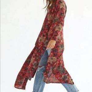 New Free People play It Cool Kimono Topper Size XLarge. New with tags